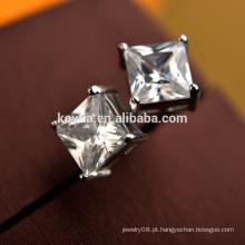 Fine Nice Pure prata esterlina 925 zircão stud brinco em Alibaba.com