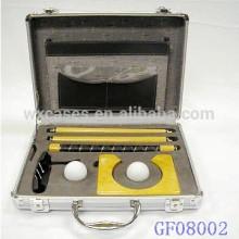 insertar caso de golf aluminio portable con el encargo de la espuma de la fábrica de China