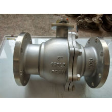 Stainless Steel Ball Valve with Flange End for Flanged Valve (Q41)