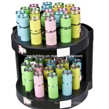Linterna de aluminio de la batería seca