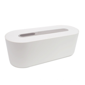 Cable Storage Box Plastic White