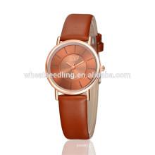 Novia regalo clásico grande marcar señoras relojes mujer última mano ver