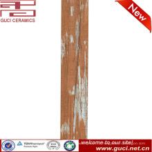 Антипробуксовочная интерьера загородного дизайна напольной плитки древесины керамическая плитка 150x800