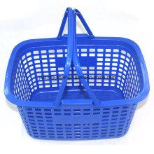 Zc-1 New PP Material Plastic Supermarket Hand Basket