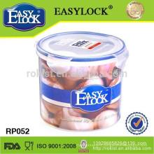 Plastic box/round shape container/food storage box