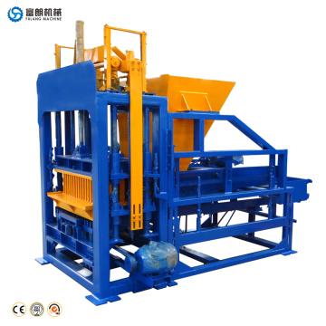 Máquina de construcción de equipos de construcción QTF4-15C máquina de fabricación de bloques de Turquía hueco