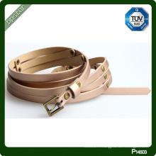 Nouvelle mode femmes pu ceintures en gros pu ceintures