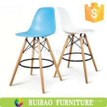 2016 Hot Sale Bar Furniture Melhor preço Design Plastic Eiffel DAW Tall Bar Chair