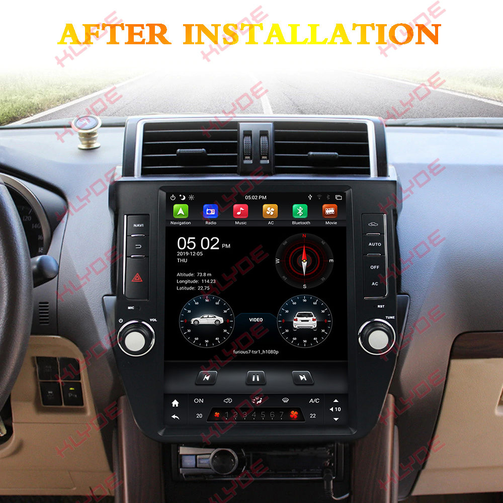 radio navigation for toyota prado 2017