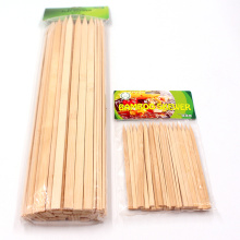 Environmental protection High Quality Bamboo Flat  Skewer For Party OR Outdoor BBQ