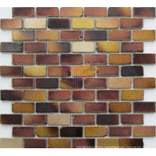 Matt Face Antique Style Brick Like Crystal Mosaic (CFC613)