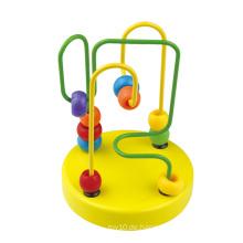 2016 Neue Ankunfts-Kind-hölzernes Baby-Minikorne-Labyrinth-Spielzeug