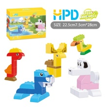 Children's Plastic Educational Building Blocks Bricks Toys
