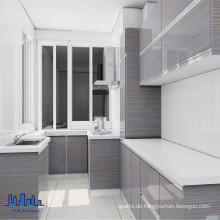 Handlose MDF Hochglanz UV Küchenschränke