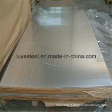 Folha laminada a frio em aço inoxidável duplex / placa S32750