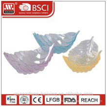Hot sell Boat shape PS plastic plate