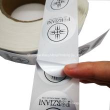3m Round Logo Custom Printed Self-Adhesive Label PVC Sticker for Products Packaging