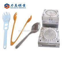 molde personalizado da colher da injeção plástica