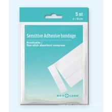 Sensitive Adhesive Bandage Plaster In Poly Bag