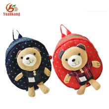 Mochila infantil de felpa personalizada Teddy Bear
