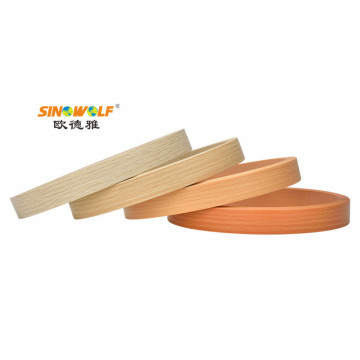 Borda de borda de PVC para MDF Board 0.35-3.0MM