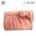 Smooth sightly bowknot toalla de baño