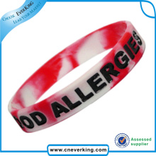 Silicone Waterproof Passive Luminescent Wristband Promotion Gift