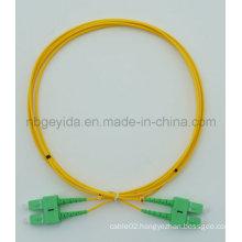 2.0 Sc/APC-Sc/APC Sm Duplex Fiber Optic Patch Cord
