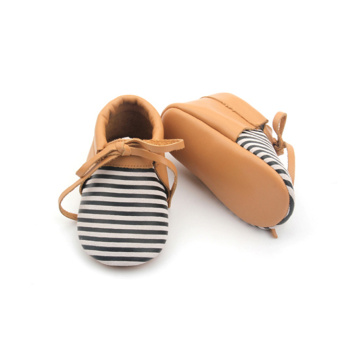 Venta al por mayor de Soft Baby Oxford Leather Shoes en Bulk