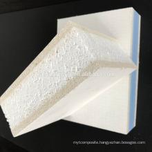 Waterproof sandwich EPS/XPS SIP magnesium oxide board MgO board
