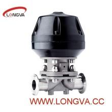 3A Apporved Sanitary Ss316L Различный мембранный клапан трехклапанной вентиляции