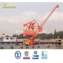 Marine Floating Boat Crane Hydraulic Crane