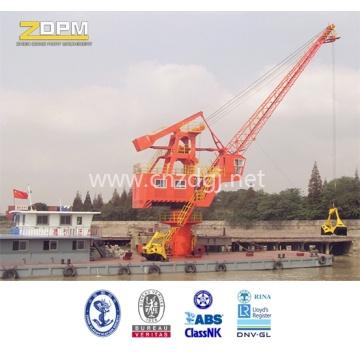 Плавучий кран морской корабль / оффшорный кран в море