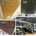 China factory 40x25mm wpc ceiling panel interior ceiling cladding ceiling panels decorative