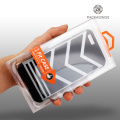 PET clear phone case box for iPhone 8P
