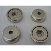 Pot Magnets with Cylindrical Borehole (POT-B)