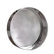 Лабораторное испытательное сито Образец из нержавеющей стали Небольшое вибрирующее стандартное сито 200 мм
