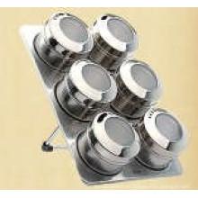 Especiero magnético de acero inoxidable (CL1Z-J0604-6I)