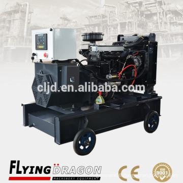 Turbocharge and intercooled diesel genset resonable supplier 40kw 50kva Yangdong power generators for sale