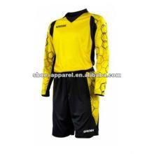 latest hot selling goalkeeper uniforms