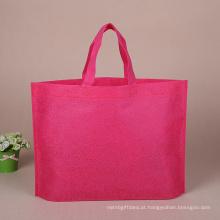 Alta qualidade personalizado colorido eco não tecido saco de compras
