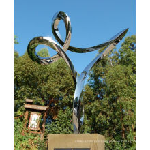 outdoor garden decoration Stainless Steel malaysian art and sculpture