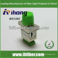 SC FC Adaptador APC / adaptador híbrido óptico caja metálica