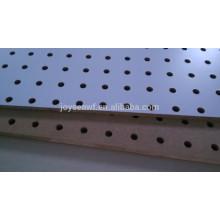 Tabla peg / tabla perforada / material perforado mdf del tablero o tablero duro