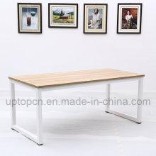 Минимализм металлическая Рама стола с деревянной столешницей (СП-RT557)