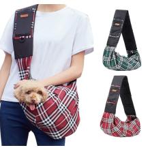 Bolso de hombro acolchado con correa para honda para mascotas