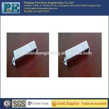 stainless steel 304 stamping bending with mirror polished chrome plated bridge of guitar parts