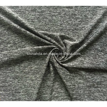 Tela macia do sentimento da mão do poliéster de Cation para o vestuário de Casualwear (HD2501061)