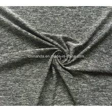 Катионный полиэстер Ощупывание мягкой руки ткани для повседневной одежды (HD2501061)
