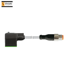 штекер клапана А-образный 18-миллиметровый контакт Двойной разъем